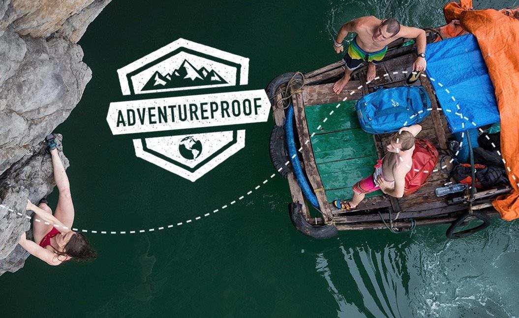 Eine Weltreise – und Osprey bezahlt