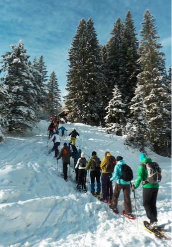 berghaus-schneeschuhtour