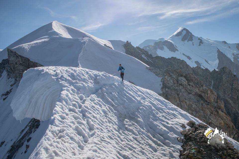 Marco de Gasperi läuft Rekord am Mont Blanc