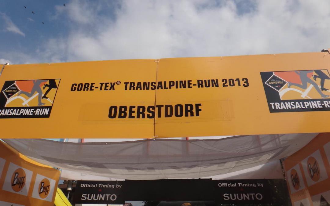 Transalpine Run 2013 – die erste Etappe – der Bericht