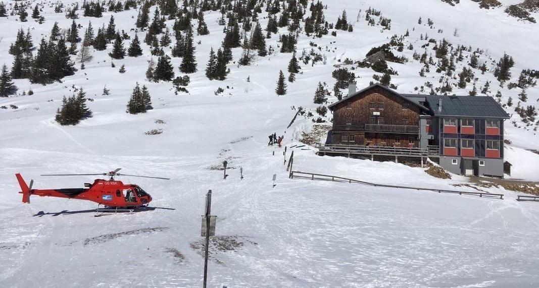 Der Öko-Heli – DAV verteilt Hüttengäste per Hubschrauber