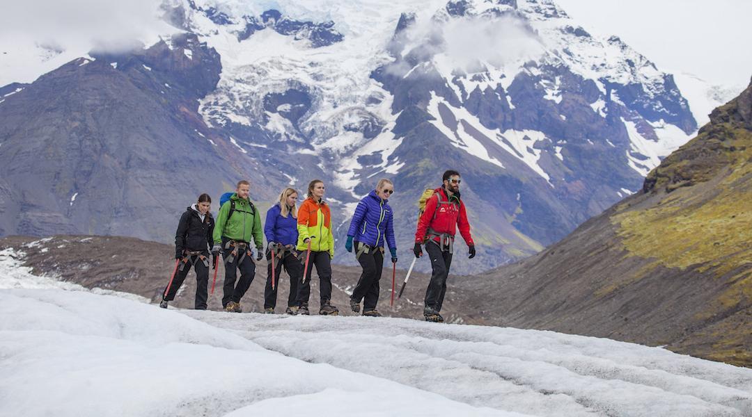Island oder wieviel Wasserfall geht in eine Wanderung?