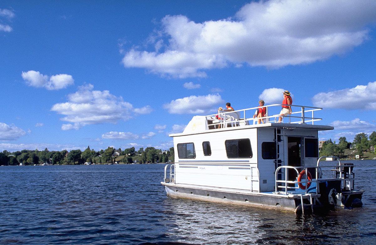 Ontario-Hausboot-Kanada
