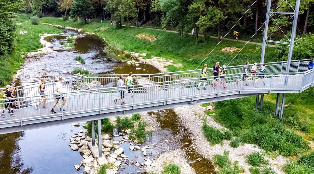 Zweite Etappe der Trails 4 Germany in Lennestadt