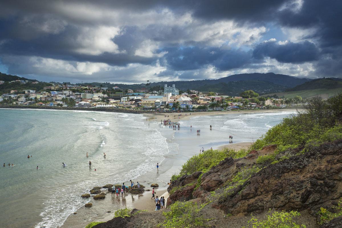 Tombolo-Blick_a_Martinique