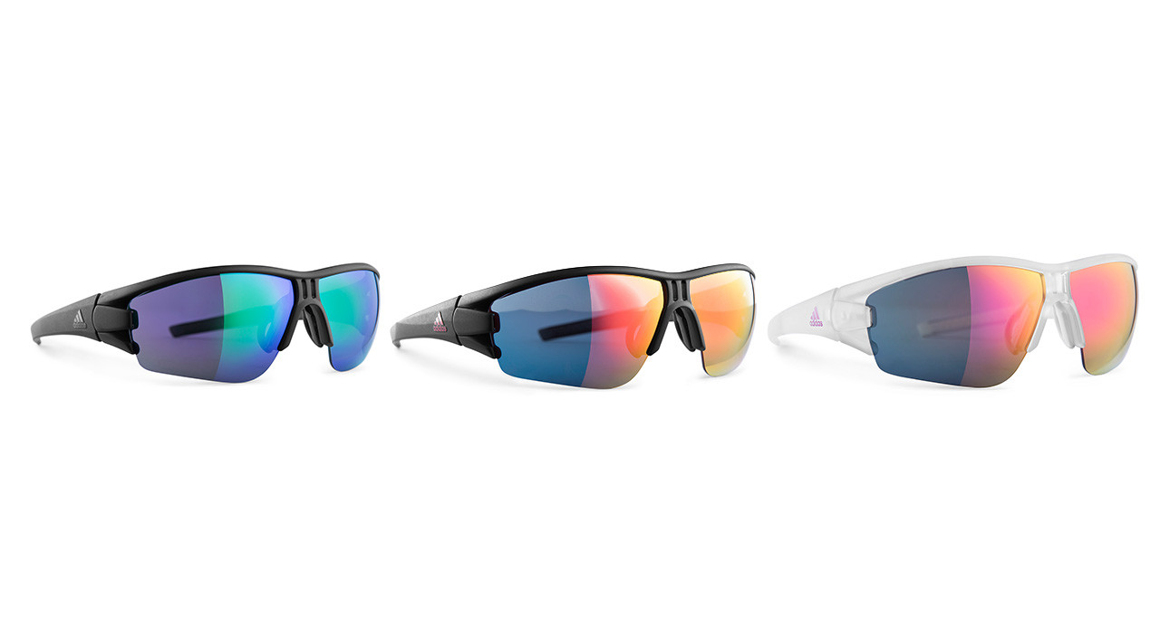 Die neue evil eye halfrim von adidas Sport eyewear