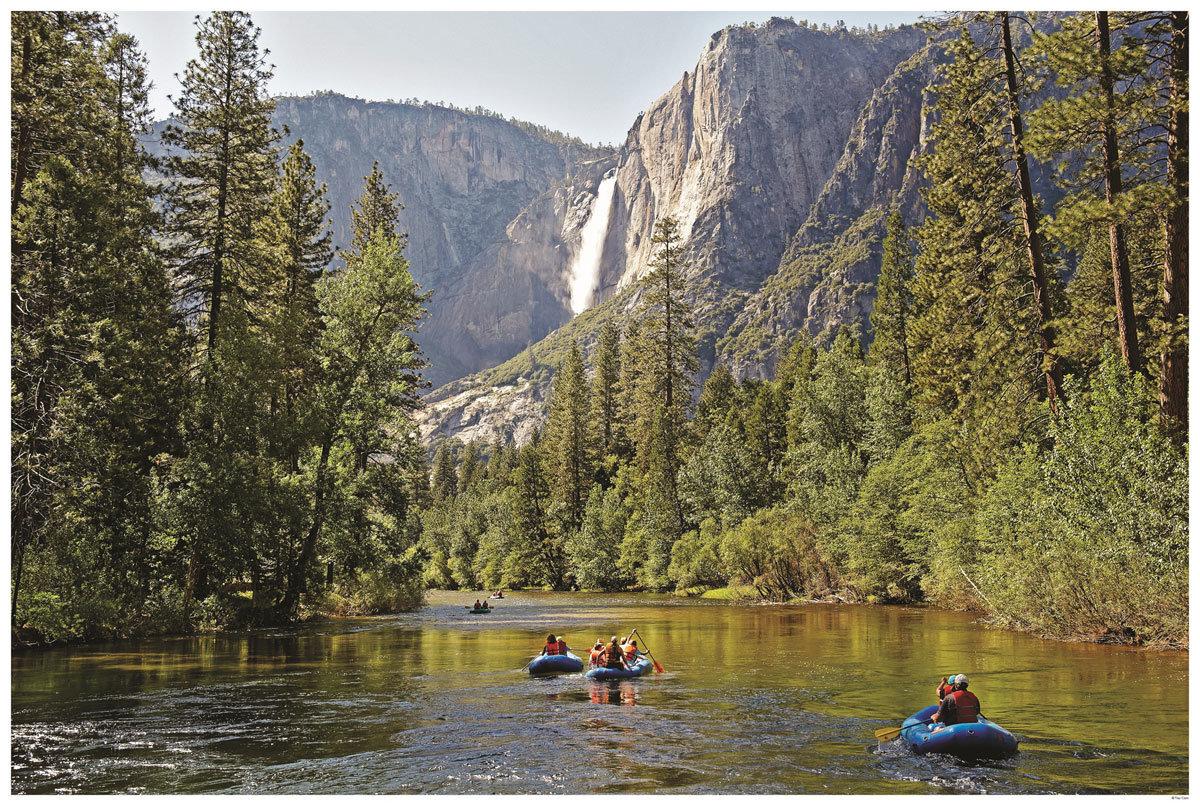 Sommer im Yosemite National Park