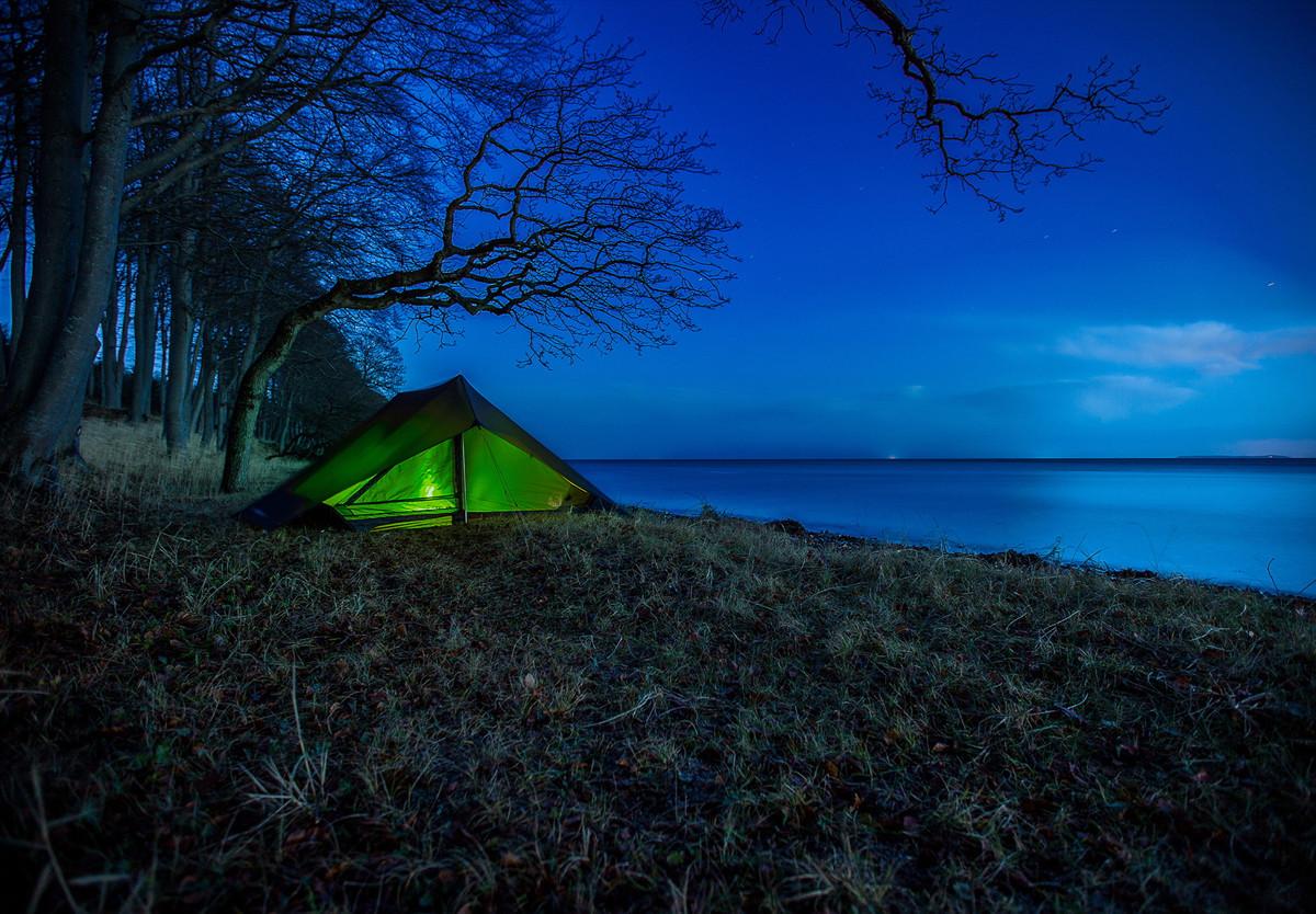 Nordisk bietet Zelt und Schlafsack für den Zelturlaub