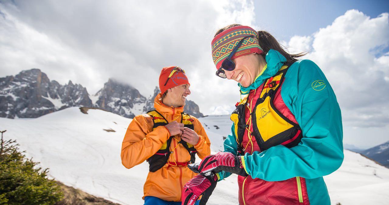 La Sportiva bietet Equipment für Laufrunden in Schnee und Eis