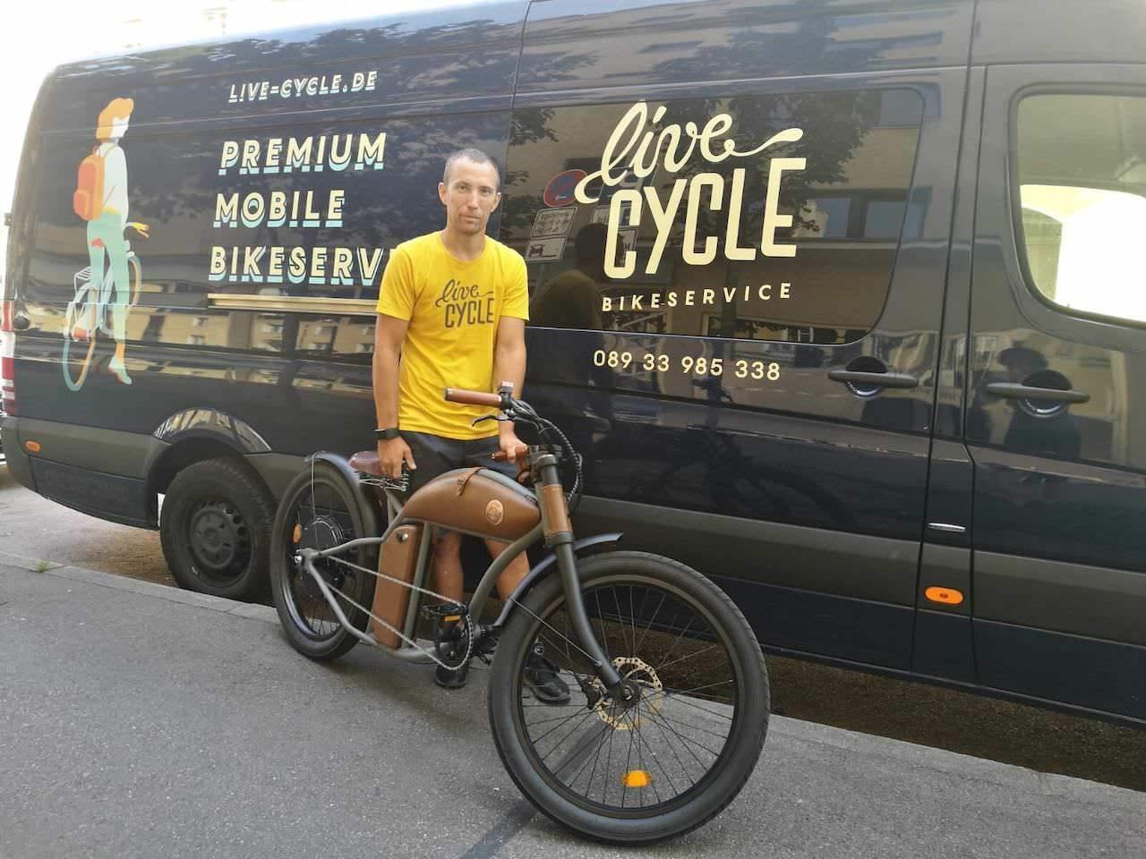 Rayvolt E-Bikes und LiveCycle