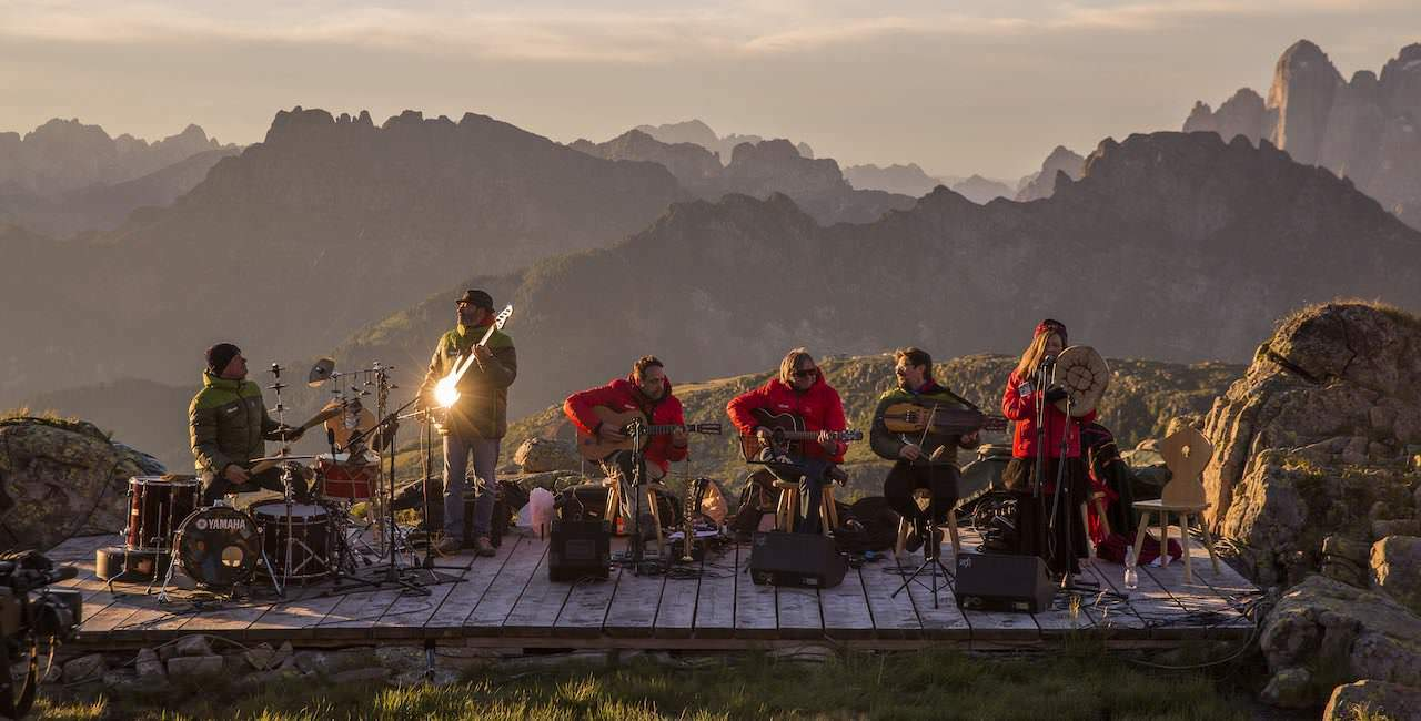 Da liegt Musik in der Bergluft