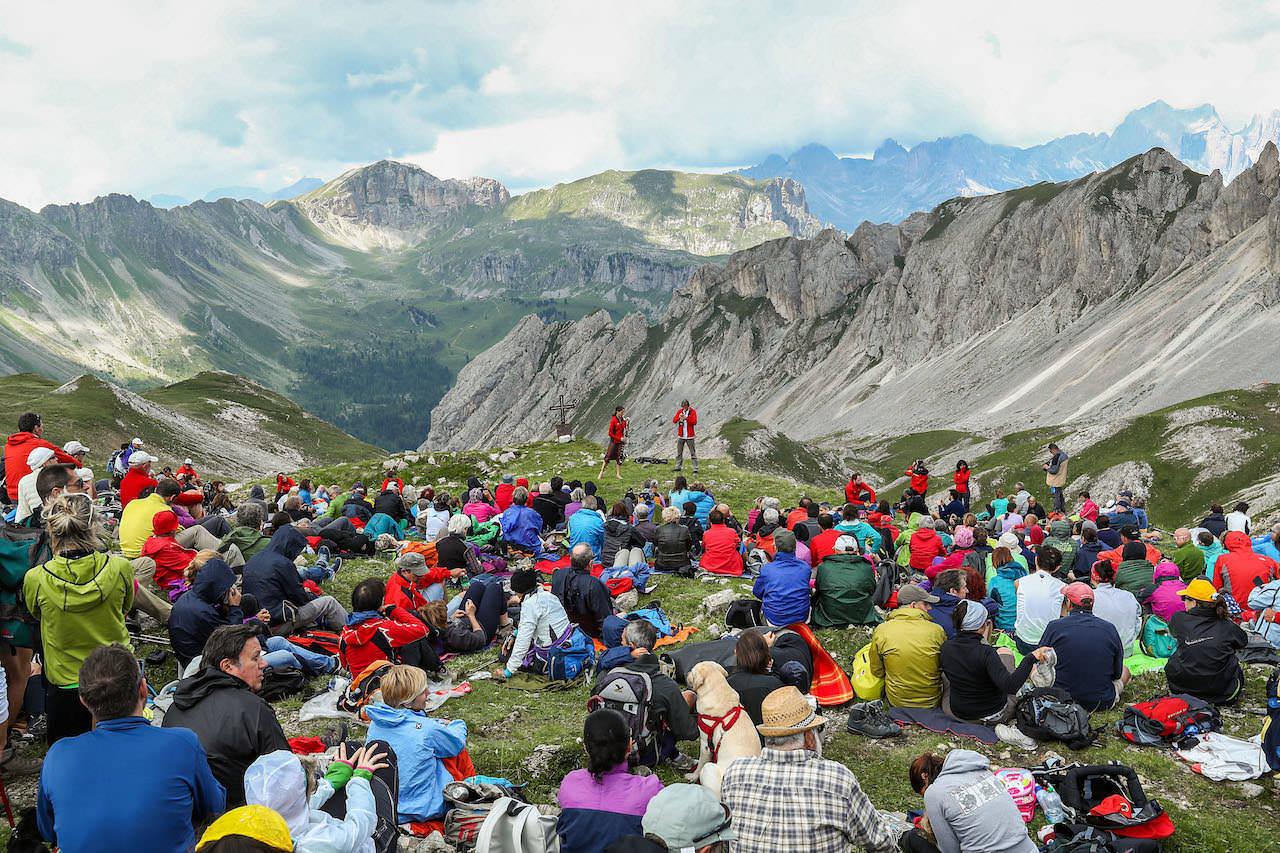 (c) Trentino Marketing_Arturo Cuel_Val di Fassa – Gruppo Costabella – Cima Uomo – Rifugio Bergvagabunden Hutte