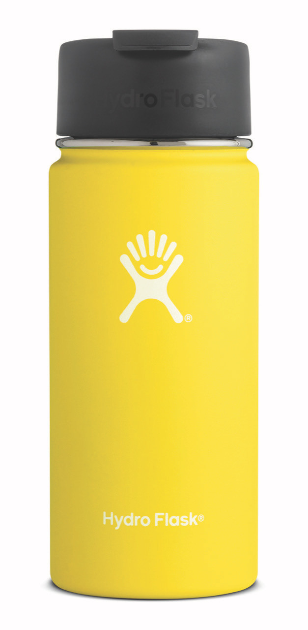 Hydro-Flask-16-oz-Wide-Mouth-Lemon