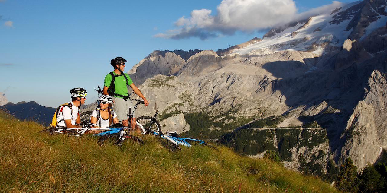 Grenzenlose Rad-Abenteuer im Val di Fassa