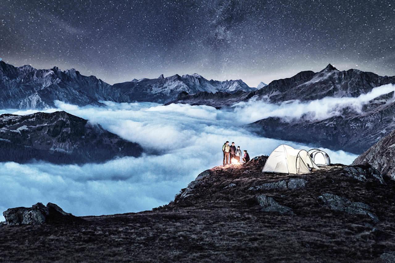 Alpines Campen – ©Silvretta Montafon_Daniel Zangerl