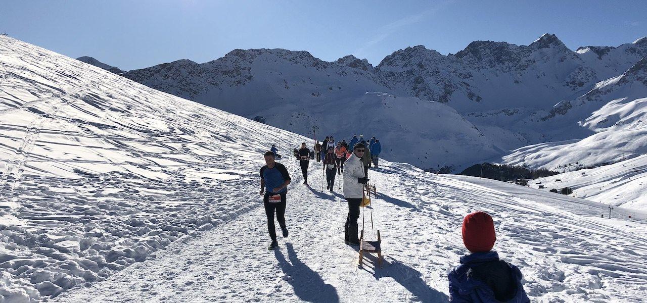Snowrunning in Graubünden