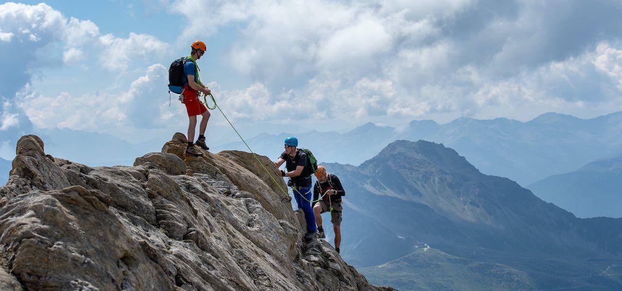 Einstieg ins alpine Genussklettern