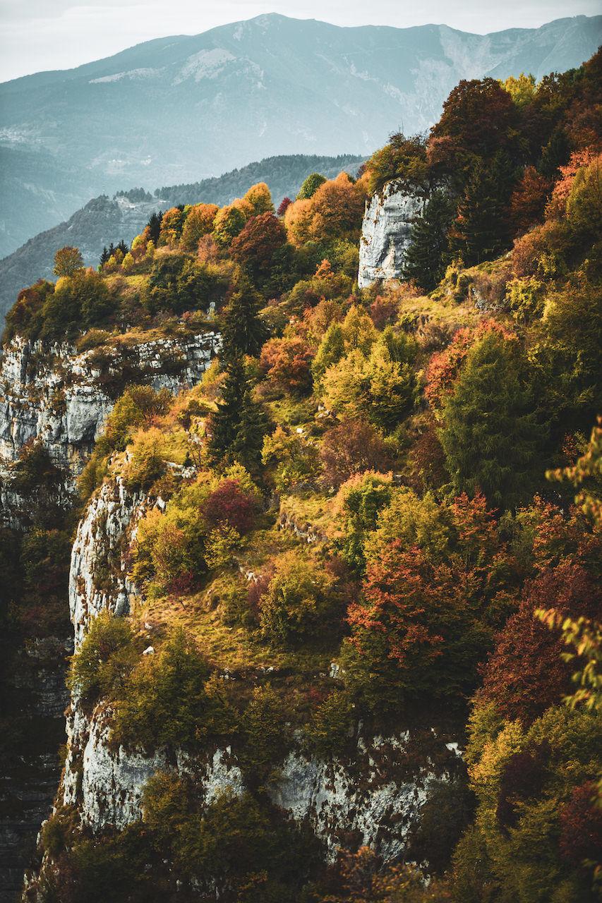 Forra del Lupo Alpe Cimbra foto Simone Mondino