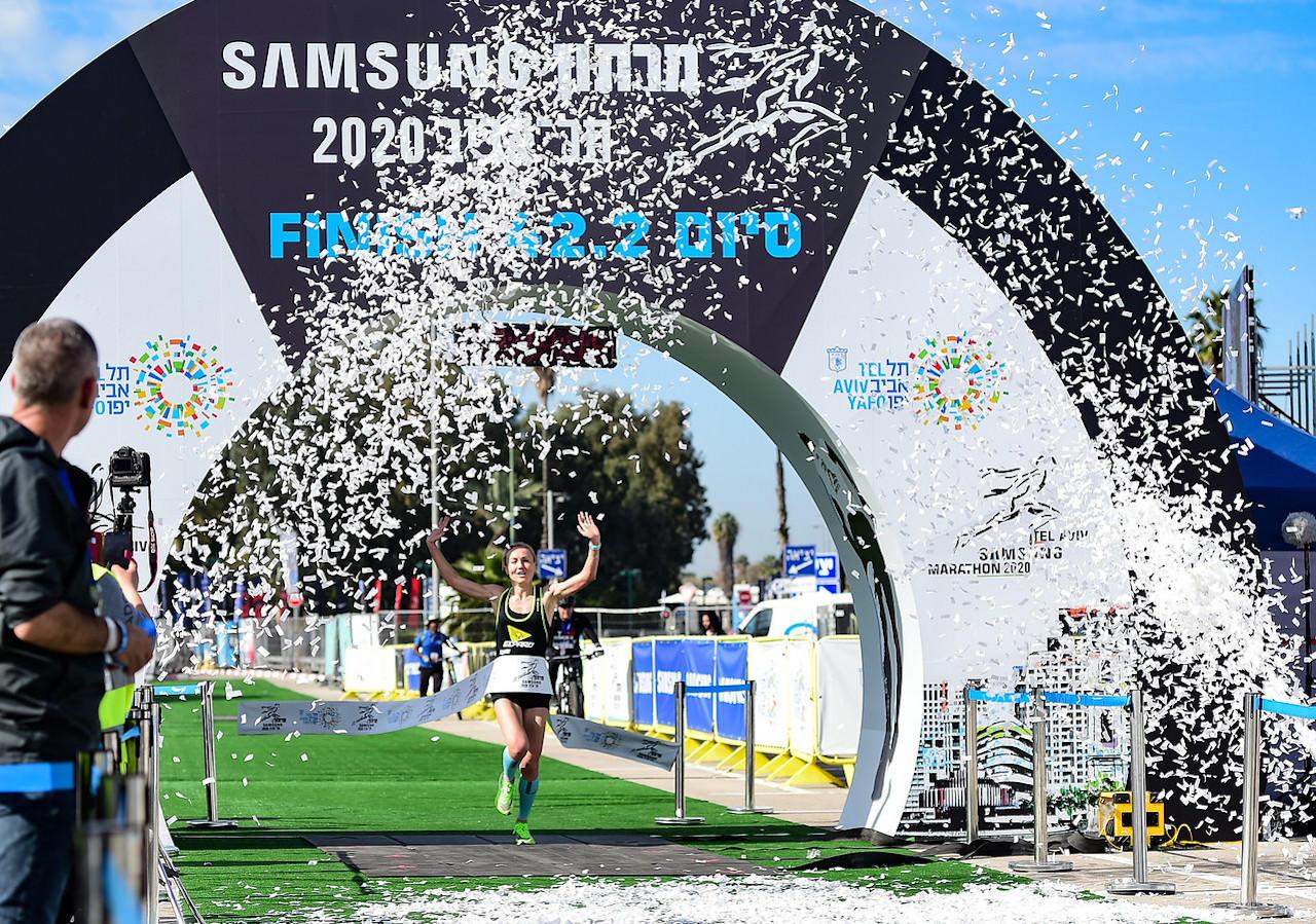 Tel Aviv Marathon 2020 (Credit Kapaim Active) 2