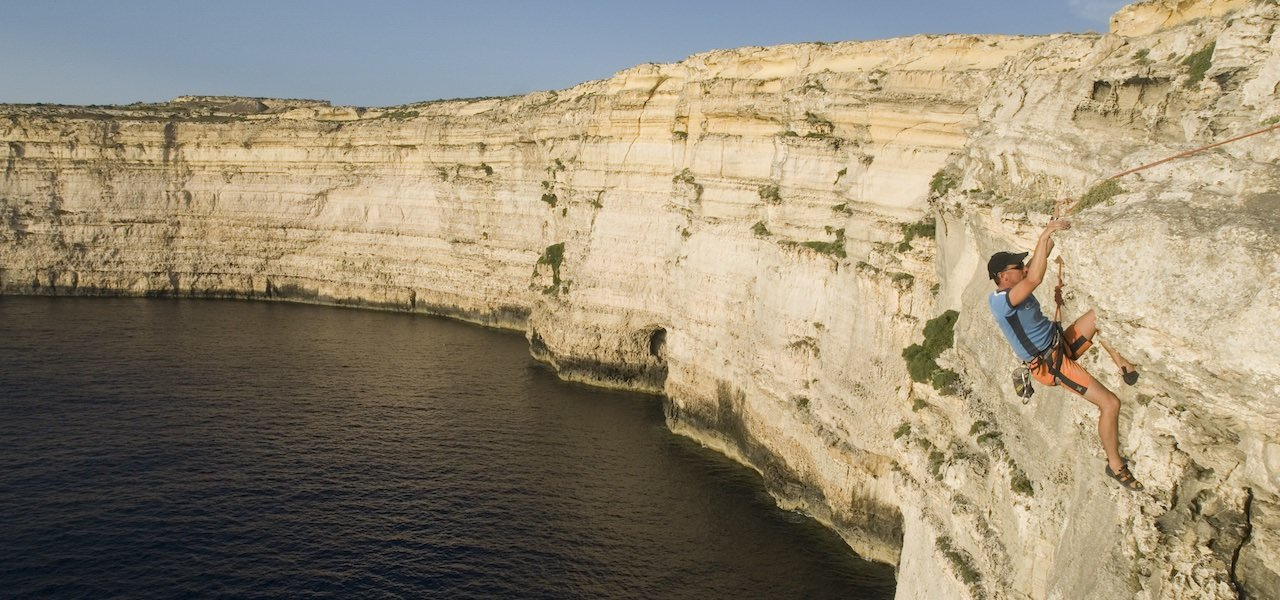 Zum Klettern nach Malta