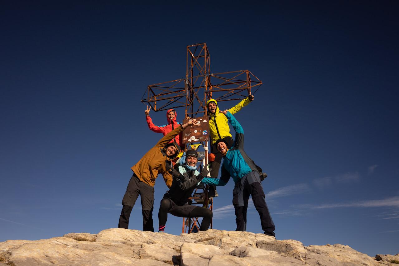 4_Team 2019 on the summit of Mount Marguareis_Piemonte region