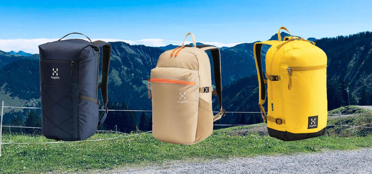 Haglöfs macht Daypacks aus Recyclingmaterial