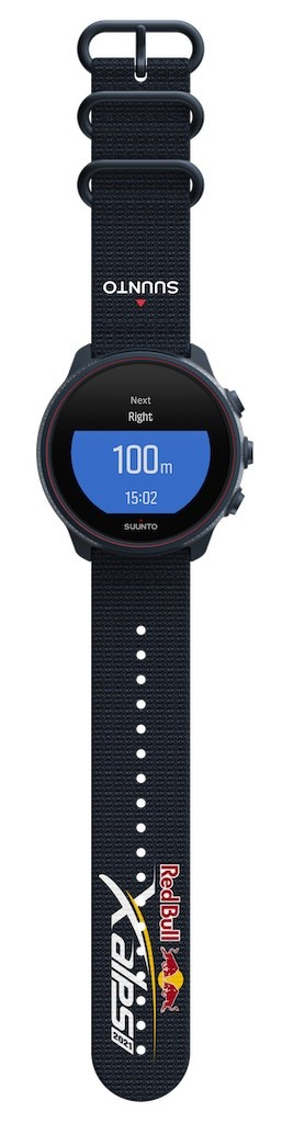 Suunto_9_Baro_Titanium-Red_Bull_X-Alps_Limited_Edition_2021-Front_with_strap_Turn-Kamoot