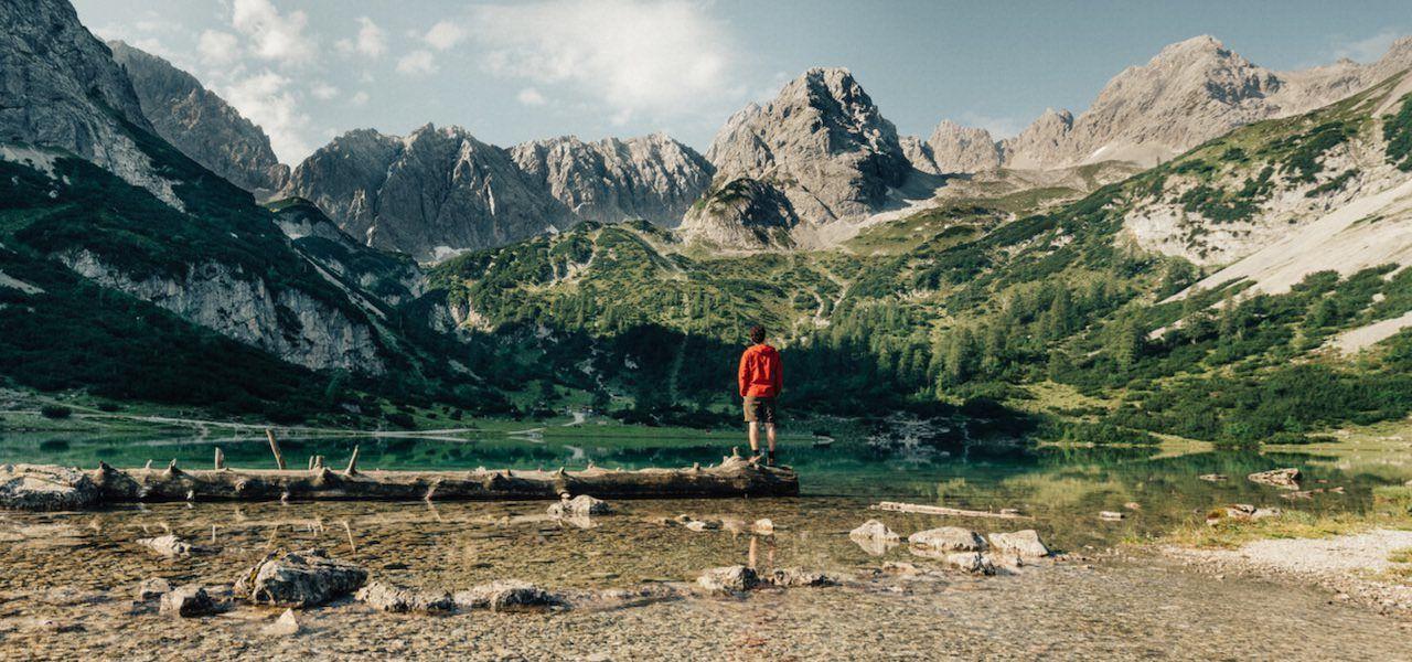 Bergwandern für Einsteiger in der Tiroler Zugspitz Arena