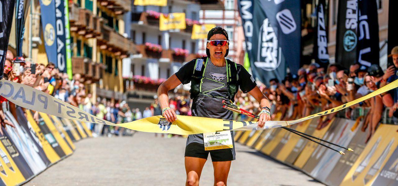 Hannes Namberger gewinnt den La Sportiva Lavaredo Ultra Trail