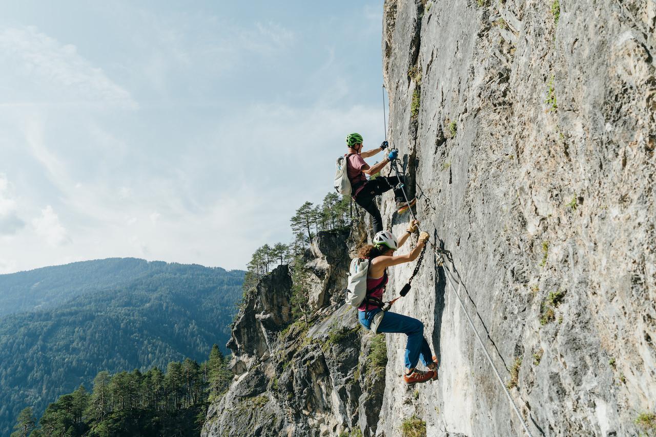 Galitzenklamm, Klettersteig Adrenalin