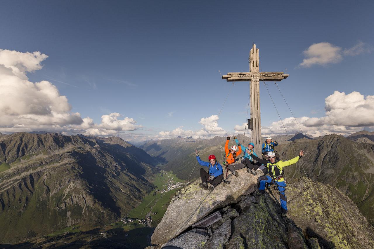 Klettersteig Ballunspitze
